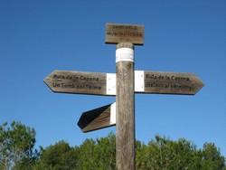 ruta excursionista