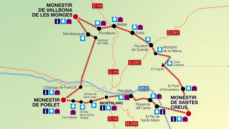 ruta cister